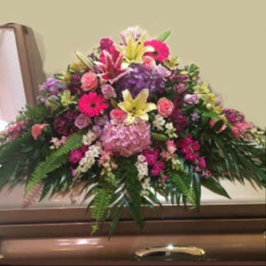 Denville Florist | Bright Casket Spray