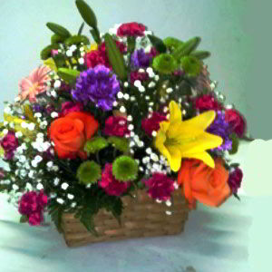 Denville Florist | Glowing Basket